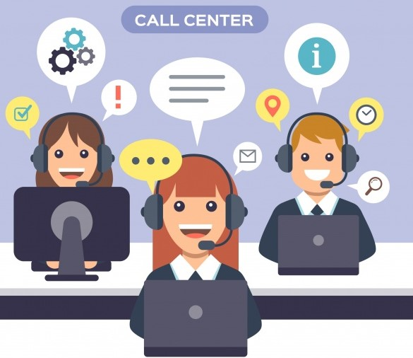 (Français) Call Center : Le B A – BA !