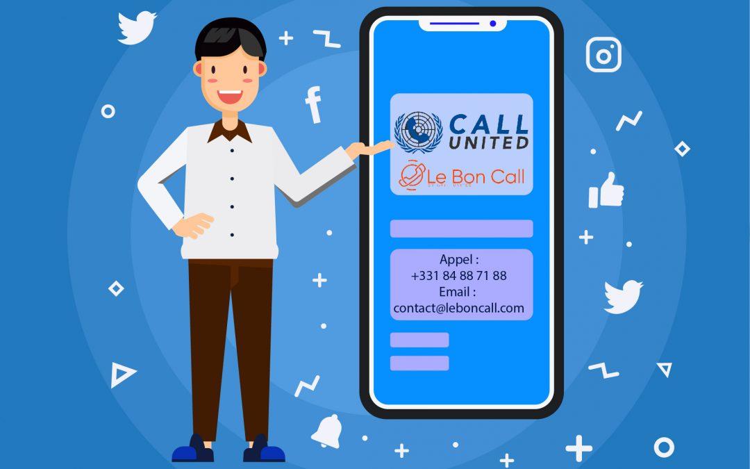 (Français) Call United : Le centre d'appels qui gère votre visibilité digitale.