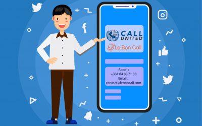 Call United : Le centre d'appels qui gère votre visibilité digitale.