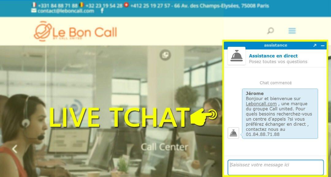 le live chat, un adjuvant au call center